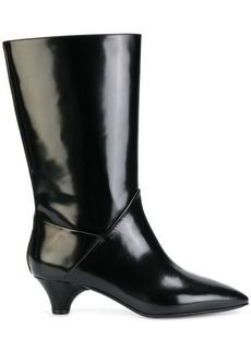 Marni mid-calf sheen boots - Black