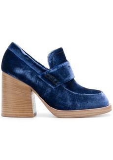 Marni Momsy moccasins - Blue