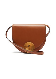Marni Monile leather saddle cross-body bag
