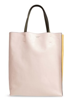 Marni Museo Colorblock Soft Leather Tote