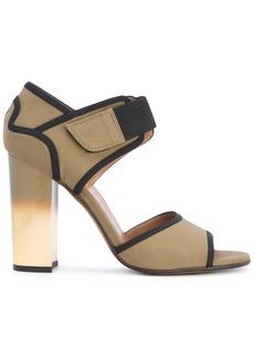 Marni Ombré heel technical sandals - Green