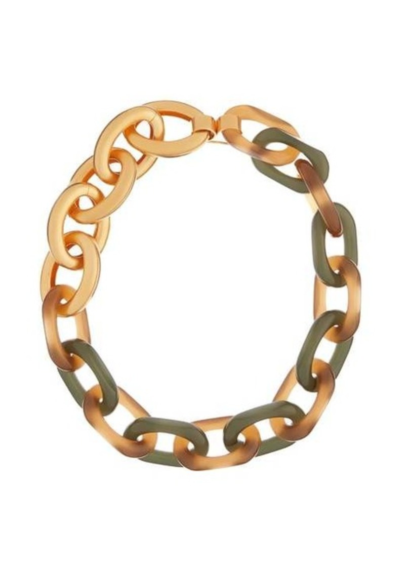 Marni Oversized chain-link necklace
