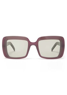 Marni Oversized square acetate sunglasses