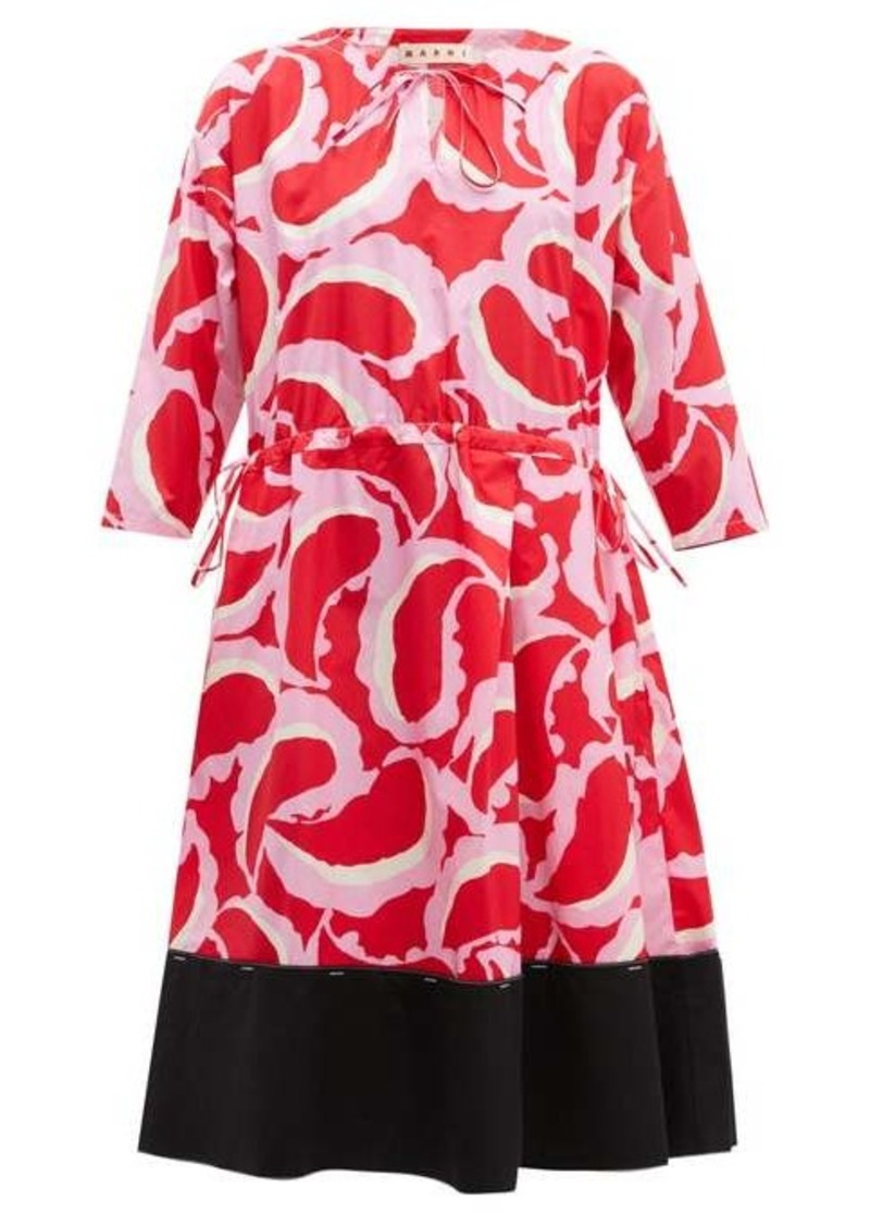 Marni Paisley-print dress