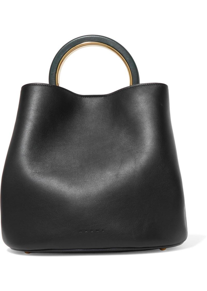 ca6043da3 Marni Marni Pannier leather bucket bag | Handbags