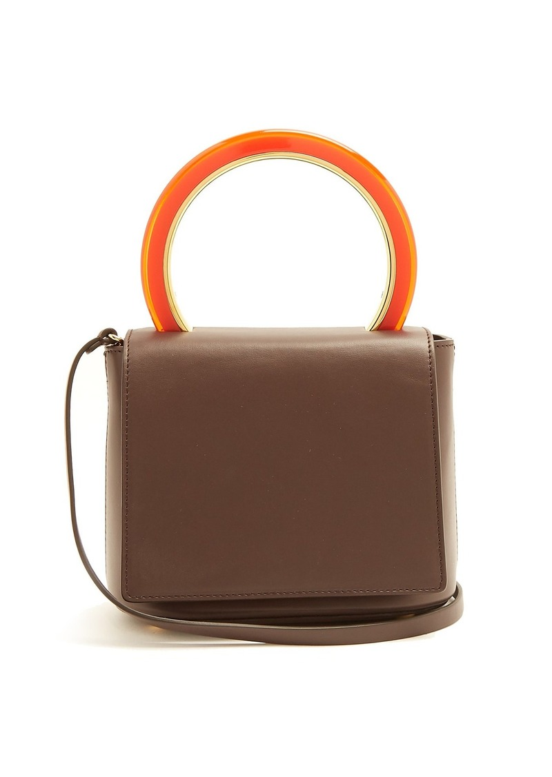 Marni Pannier leather cross-body bag