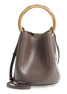 Marni Pannier Top Handle Leather Bucket Bag