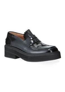 Marni Patent Penny Platform Loafers