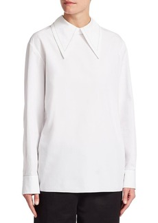 Marni Poplin Collared Shirt