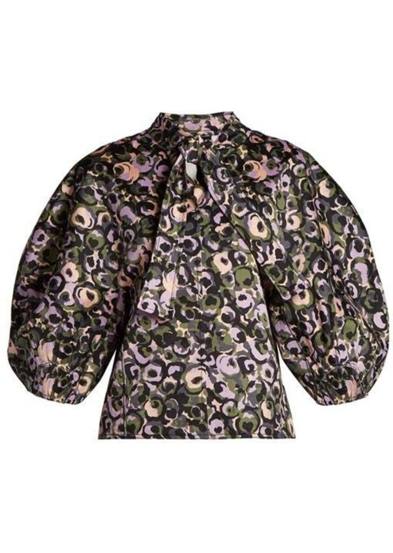 Marni Puff-sleeve blouse