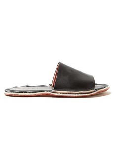 Marni Raw-edge leather slides
