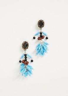 Marni Resin Spheres & Strass Earrings
