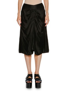 Marni Ruched-Front A-Line Skirt