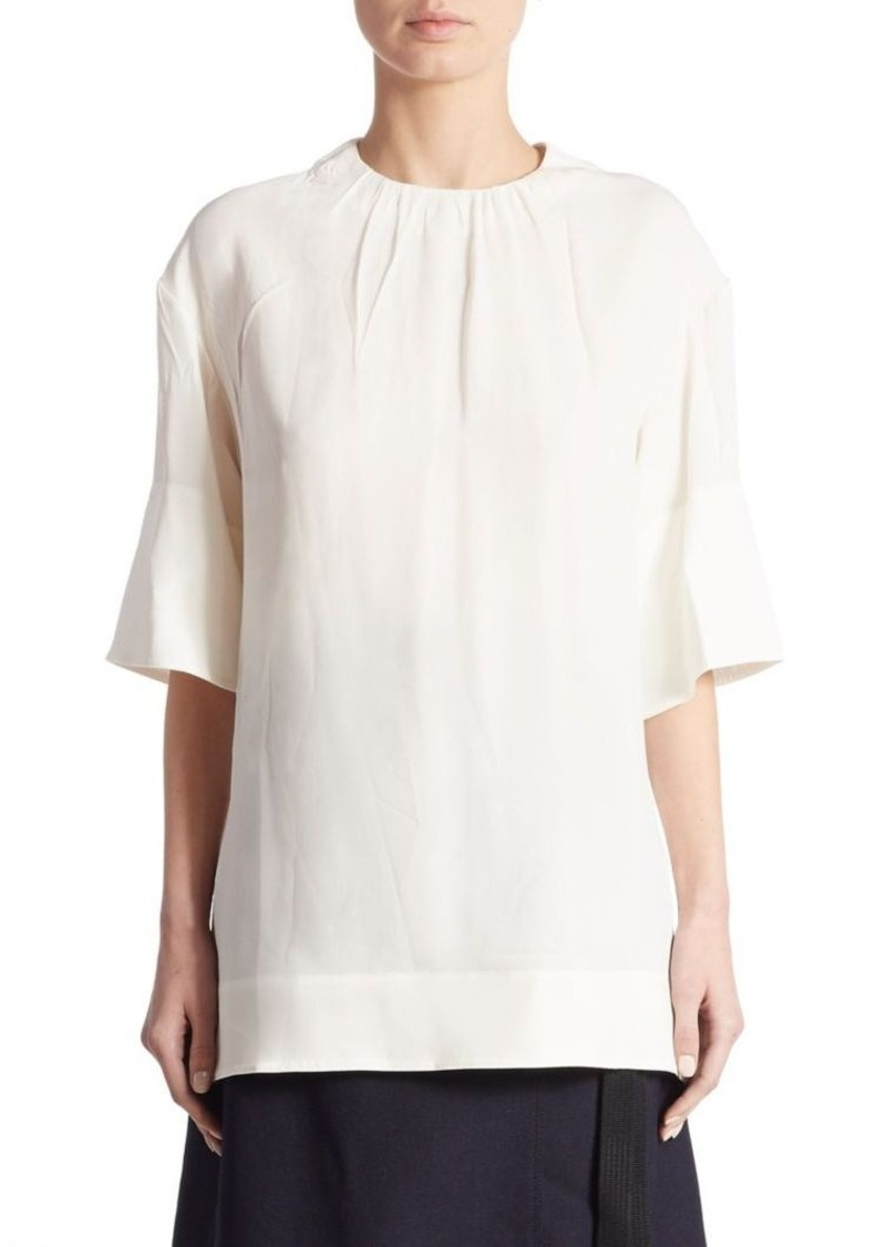 Marni Ruched Neck Blouse
