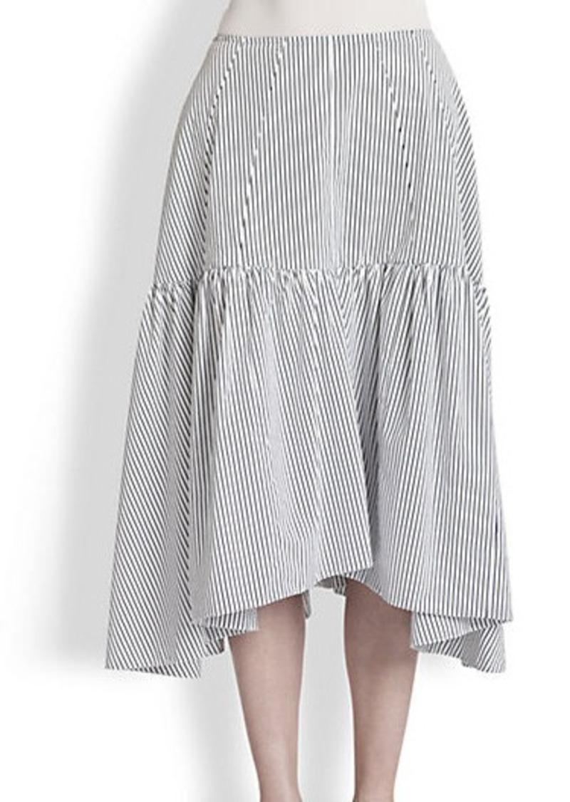 Marni Ruffle-Hem Skirt