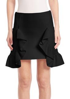 Marni Ruffled Miniskirt