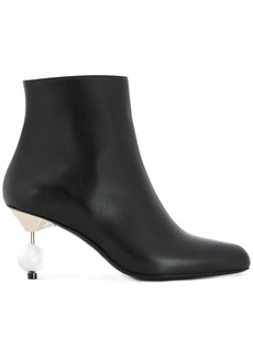 Marni sculpted heel ankle boots