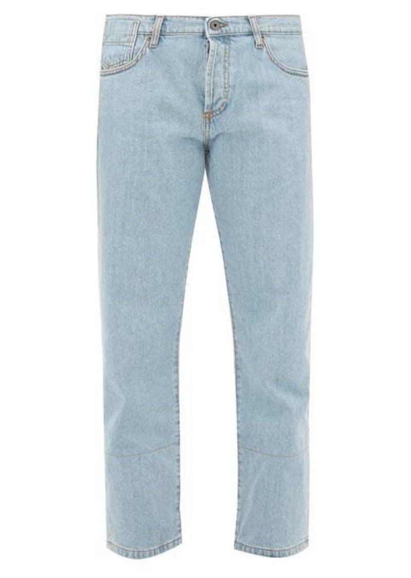 Marni Selvedge-denim straight-leg jeans
