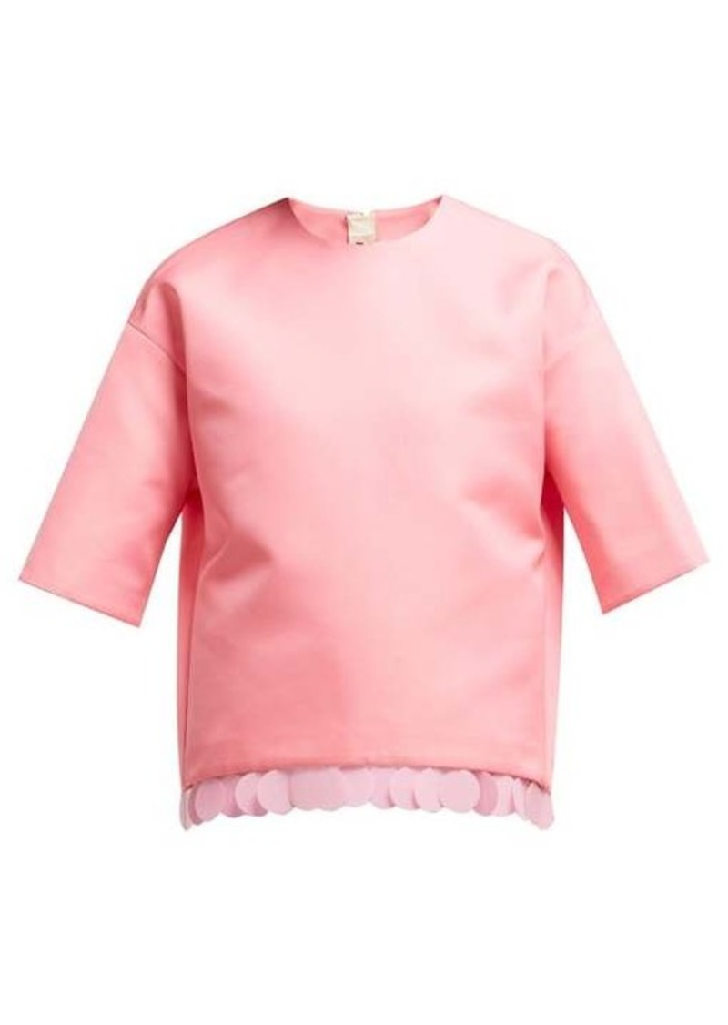 Marni Sequin-embellished top