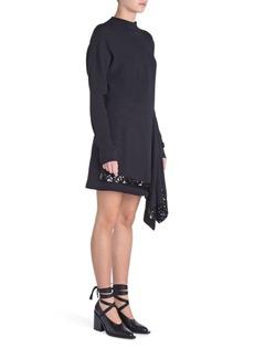 Marni Sequin Tie Crepe Mini Dress