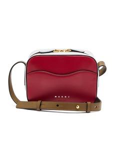 Marni Shell small leather shoulder bag