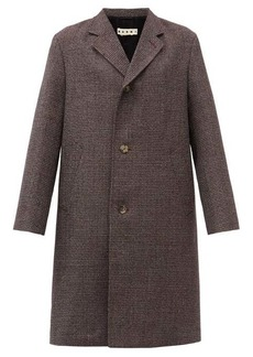 Marni Shetland virgin-wool overcoat