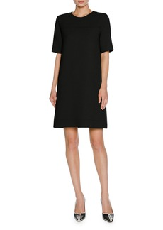 Marni Short-Sleeve Virgin Wool T-Shirt Dress