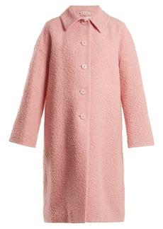 Marni Single-breasted alpaca and silk-blend coat