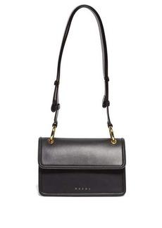 Marni Small Beat leather cross-body bag