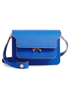 Marni Small Trunk Leather Shoulder Bag