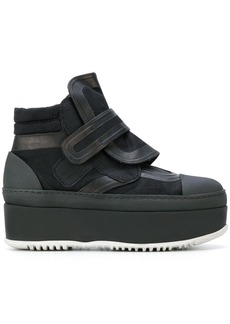 Marni sneaker ankle boots - Black