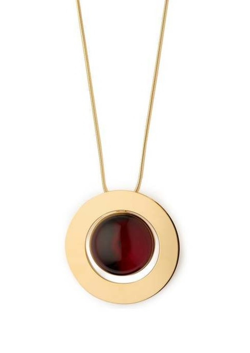 Marni Sphere drawstring necklace