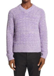 Marni Squares V-Neck Sweater