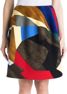 Marni Stretch Wool Tulip Skirt