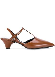 Marni t-bar strap pumps - Brown