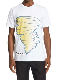 Marni Tornado Cotton Graphic Tee