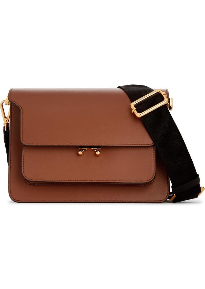 12ebf27e61e3 Marni Trunk medium leather shoulder bag