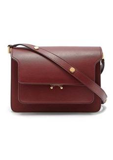 Marni Trunk medium saffiano leather bag