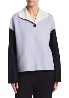 Marni Two-Tone Cashmere Coat