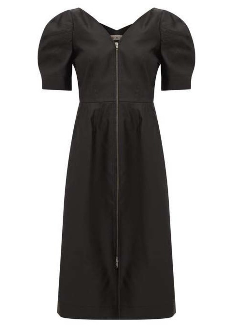 Marni V-neckline gabardine dress