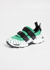 Marni Velcro Two Strap Sneakers
