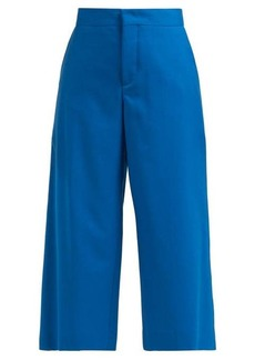Marni Wide-leg wool-twill trousers