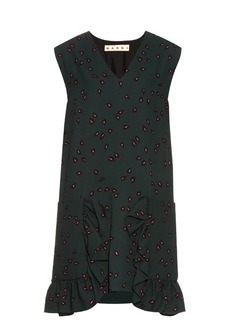 Marni Windfall Teardrop-print sleeveless dress