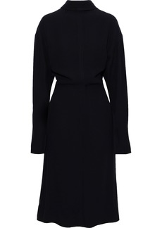 Marni Woman Cady Midi Dress Navy