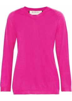 Marni Woman Cashmere Sweater Fuchsia