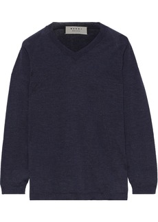 Marni Woman Cashmere Sweater Midnight Blue