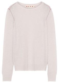 Marni Woman Cashmere Sweater Pastel Pink