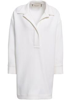 Marni Woman Cotton-blend Crepe Tunic White