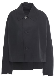 Marni Woman Cotton-blend Twill Jacket Black