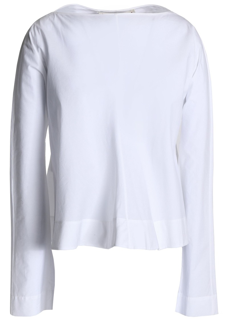 Marni Woman Cotton-poplin Top White